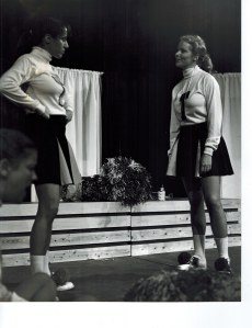 """One of two productions of """"Vanities"""" that I did many moons ago. I'm the blonde."""