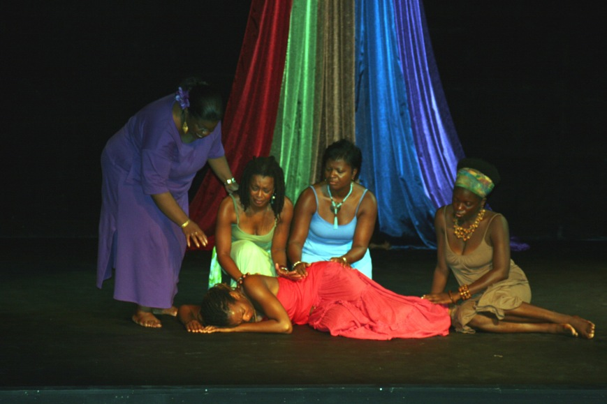 """for colored girls who have considered suicide when the rainbow is enuf"" (From Page to Stage)"